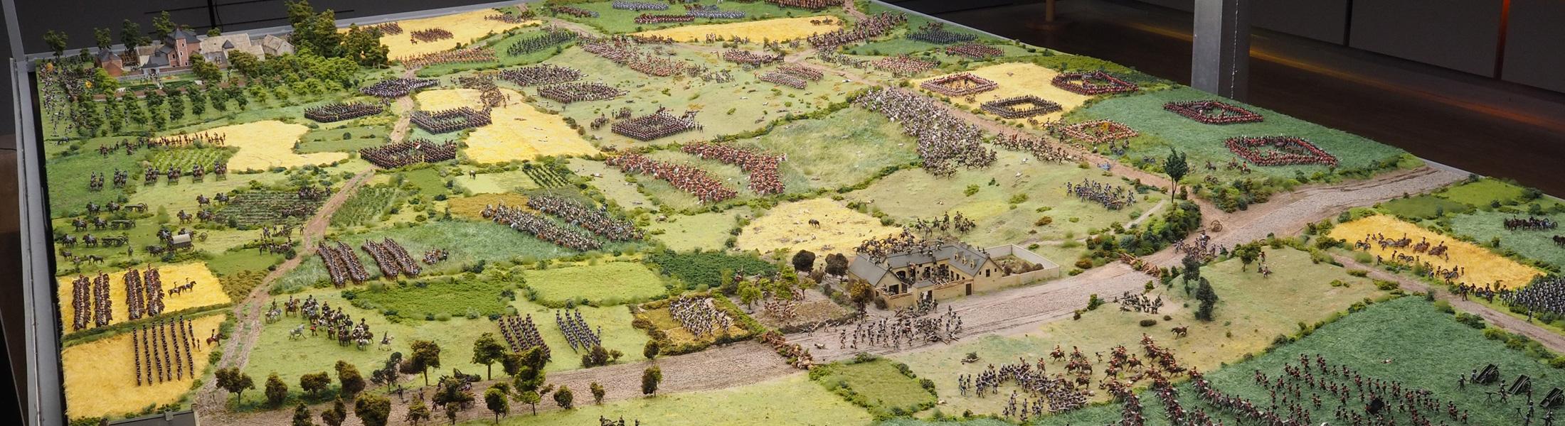 Maqueta Waterloo