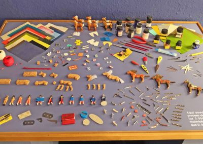 """Sala """"Martín Nicolás"""". Materiales y herramientas"""